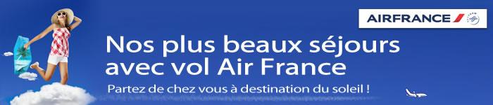 Nos plus beaux séjours avec vol Air France